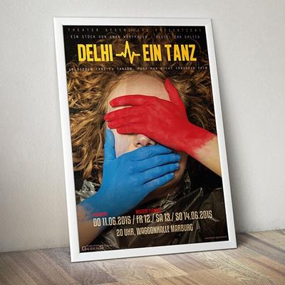delhi, ein tanz
