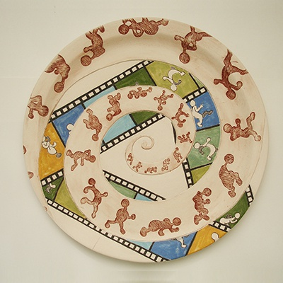 cycle animation on plate